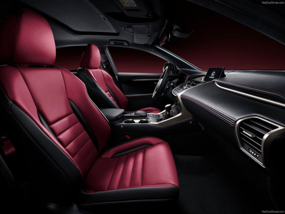 2014 awd Lexus n x suv interior wallpaper