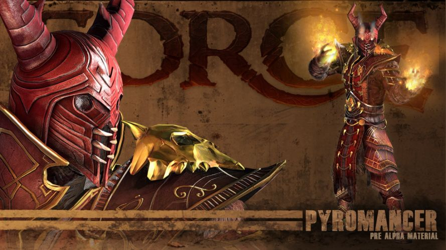 FORGE fantasy shooter class rpg mmo online wallpaper