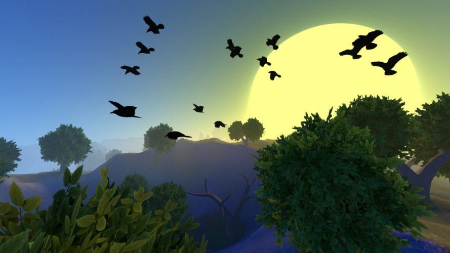 ARCANE WORLDS fantasy sandbox simulation action adventure wallpaper