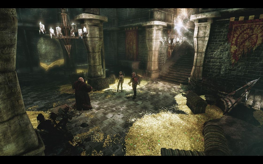 HUNTED-DEMONS-FORGE action fantasy dark co-op dungeon hunted demons forge wallpaper