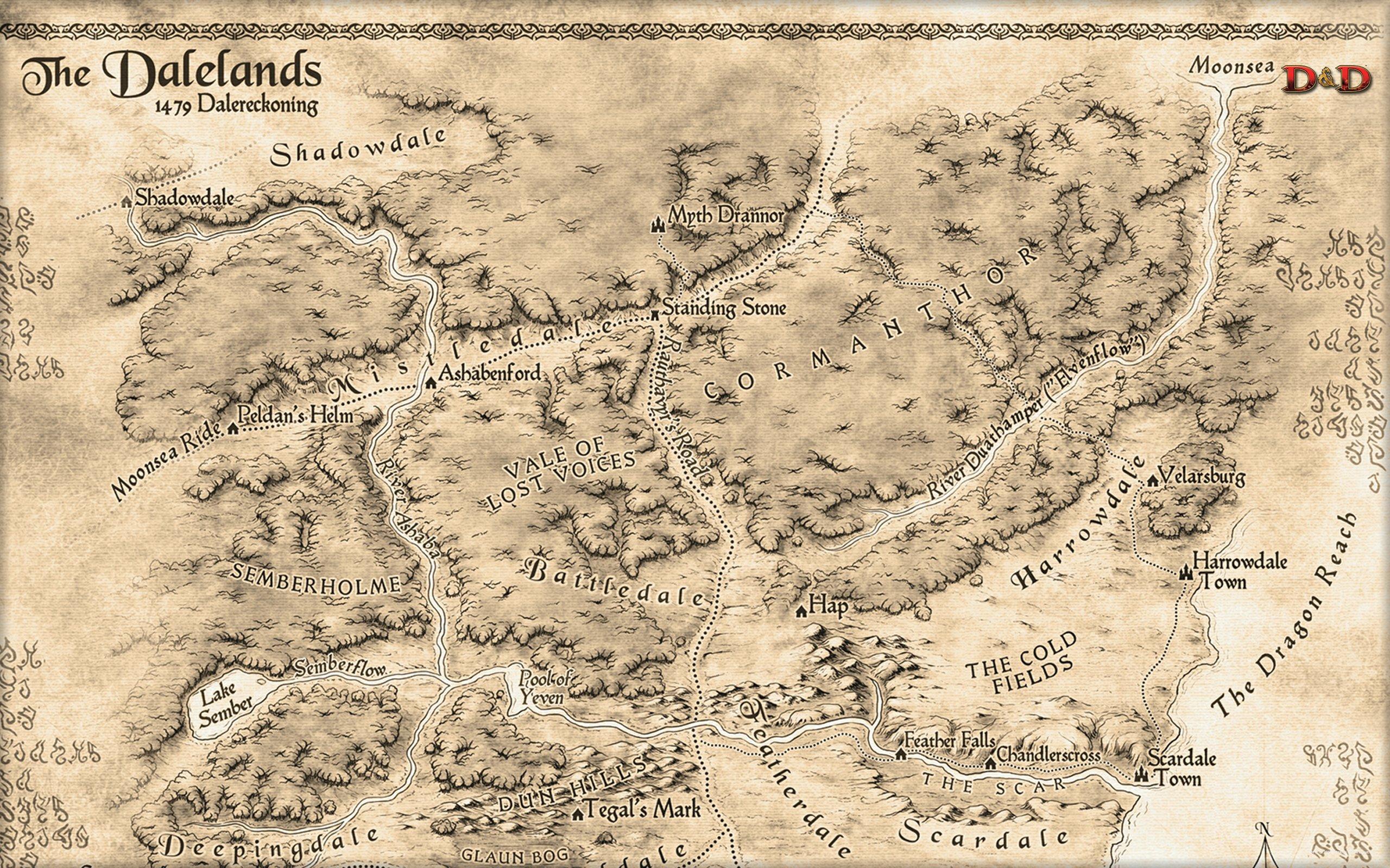 Ruined City Rpg D D Dnd Fantasy Forgotten Realms – Fondos de Pantalla