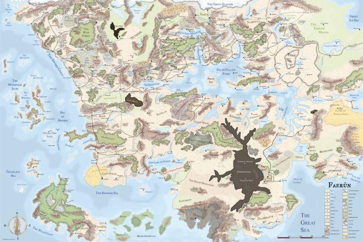 FORGOTTEN REALMS Dungeons Dragons fantasy board rpg wallpaper