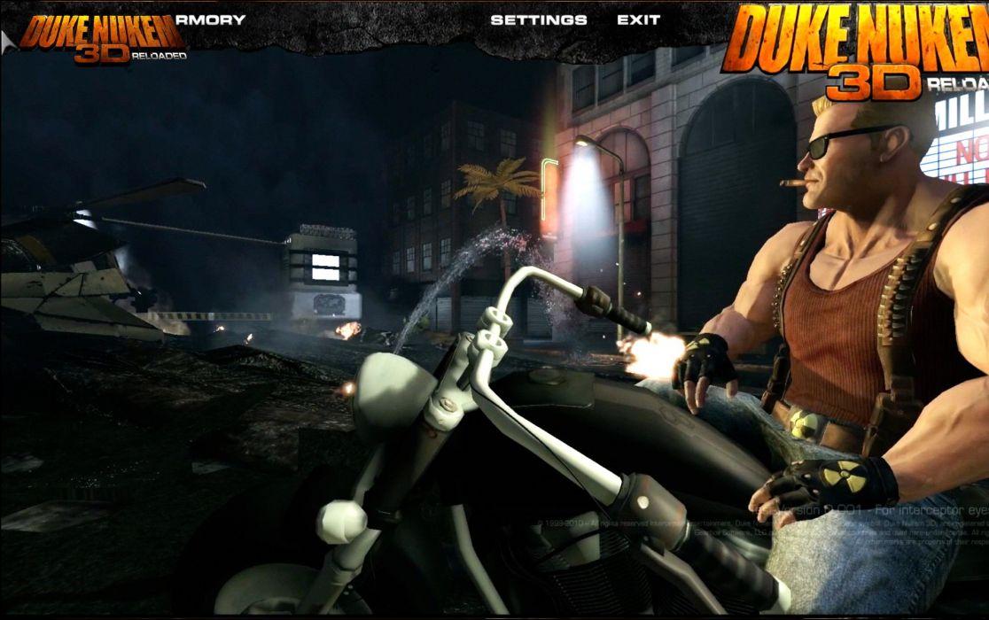 DUKE NUKEM shooter action warrior (5) wallpaper