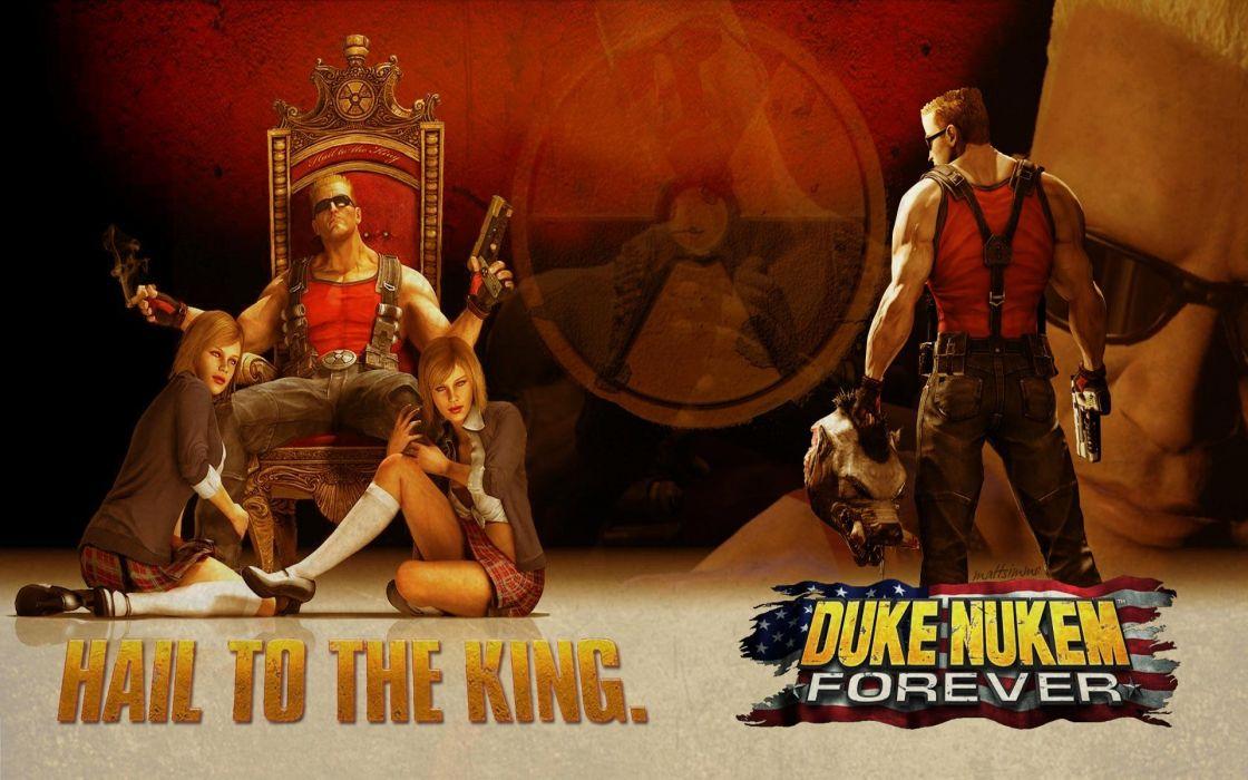 DUKE NUKEM shooter action warrior (22) wallpaper