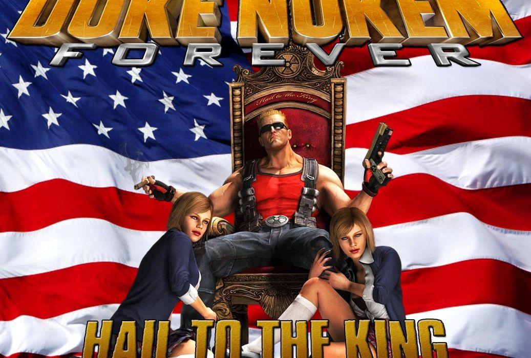 DUKE NUKEM shooter action warrior (31) wallpaper