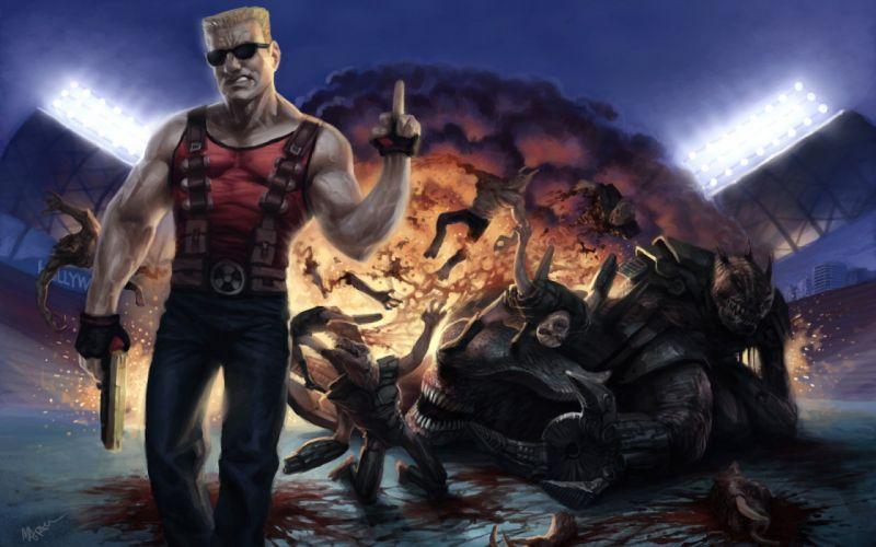 DUKE NUKEM shooter action warrior (54) wallpaper