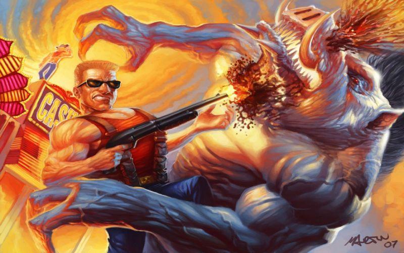 DUKE NUKEM shooter action warrior (56) wallpaper