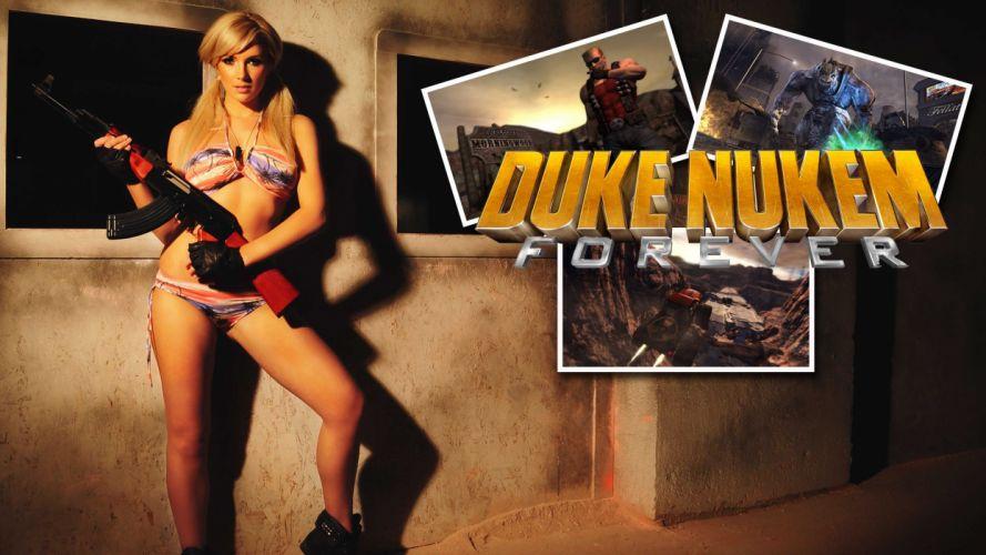 DUKE NUKEM shooter action warrior (63) wallpaper