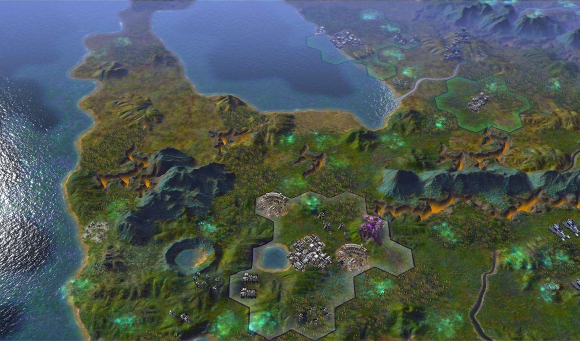 CIVILIZATION BEYOND EARTH turn-based strategy 4-X sci-fi (5) wallpaper