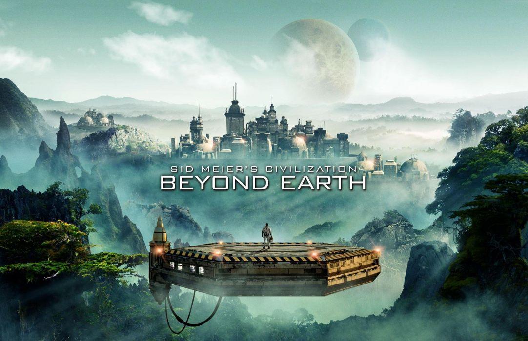 CIVILIZATION BEYOND EARTH turn-based strategy 4-X sci-fi (40) wallpaper
