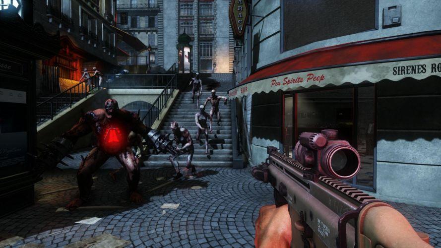 KILLING-FLOOR co-op survival horror shooter killing floor dark (3) wallpaper