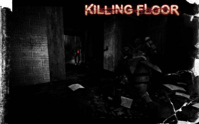 KILLING-FLOOR co-op survival horror shooter killing floor dark (15) wallpaper