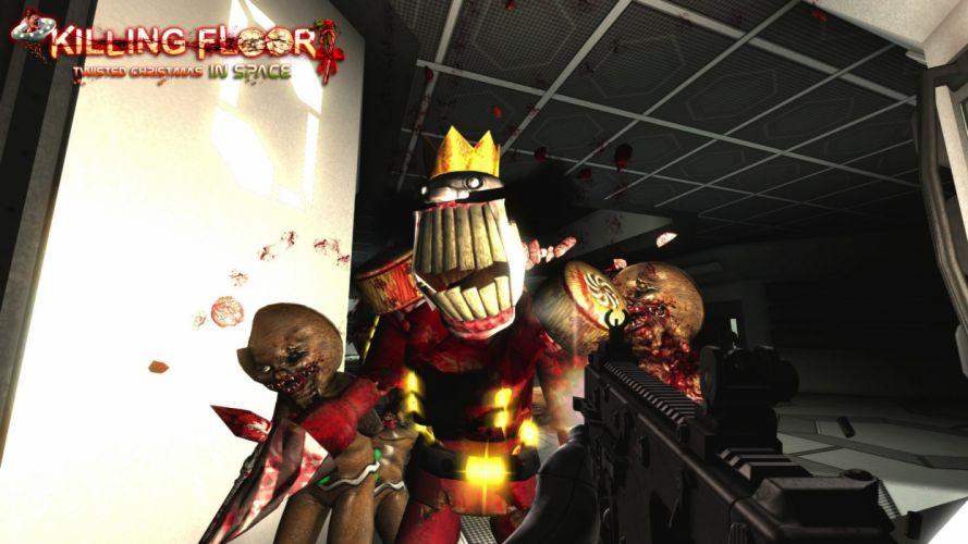 KILLING-FLOOR co-op survival horror shooter killing floor dark (21) wallpaper