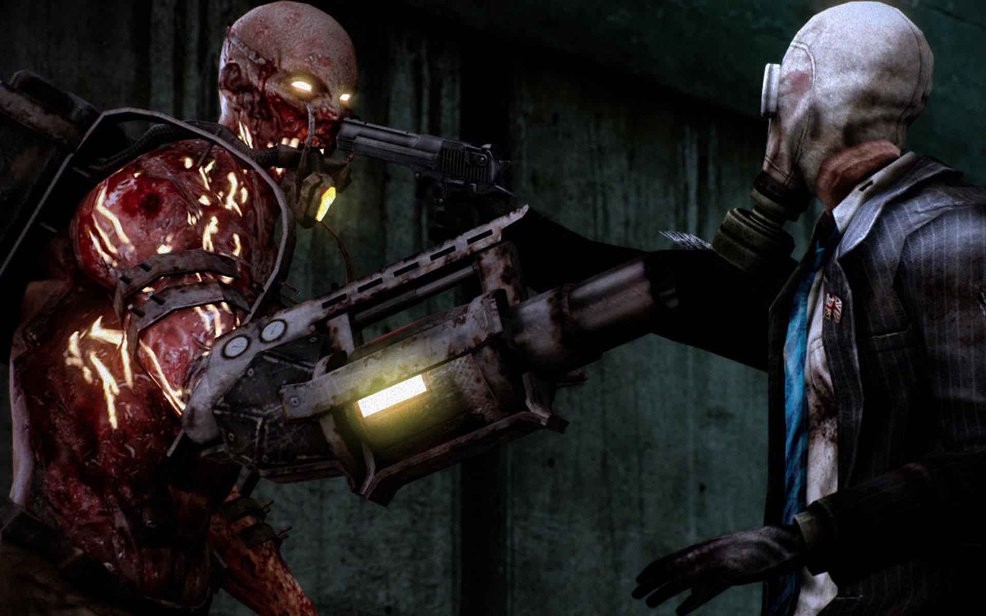 Killing floor co op survival horror shooter killing floor for Killing floor zombies