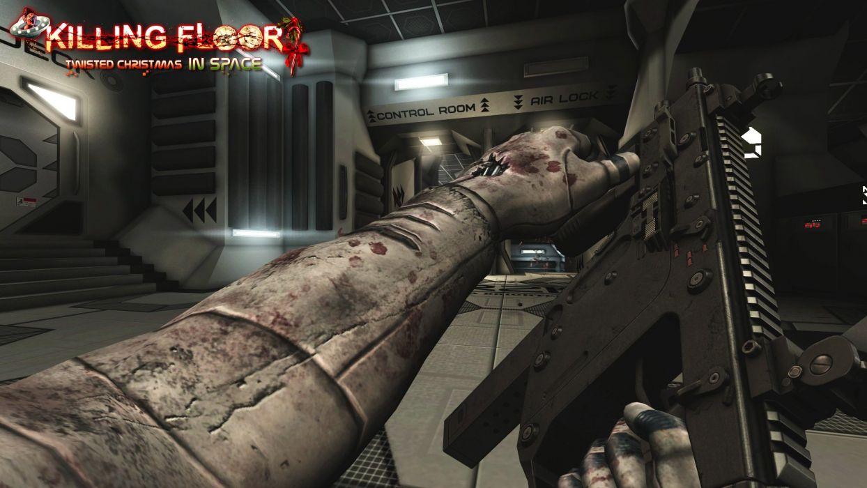 KILLING-FLOOR co-op survival horror shooter killing floor dark (22) wallpaper