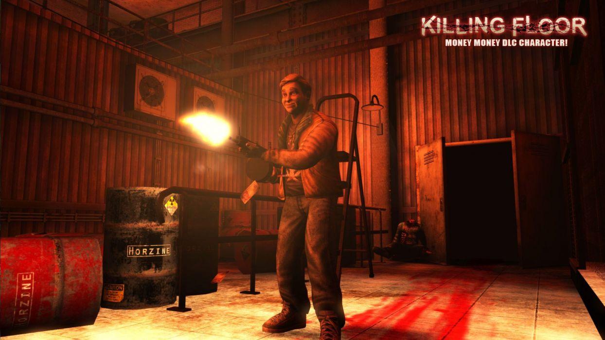 KILLING-FLOOR co-op survival horror shooter killing floor dark (27) wallpaper