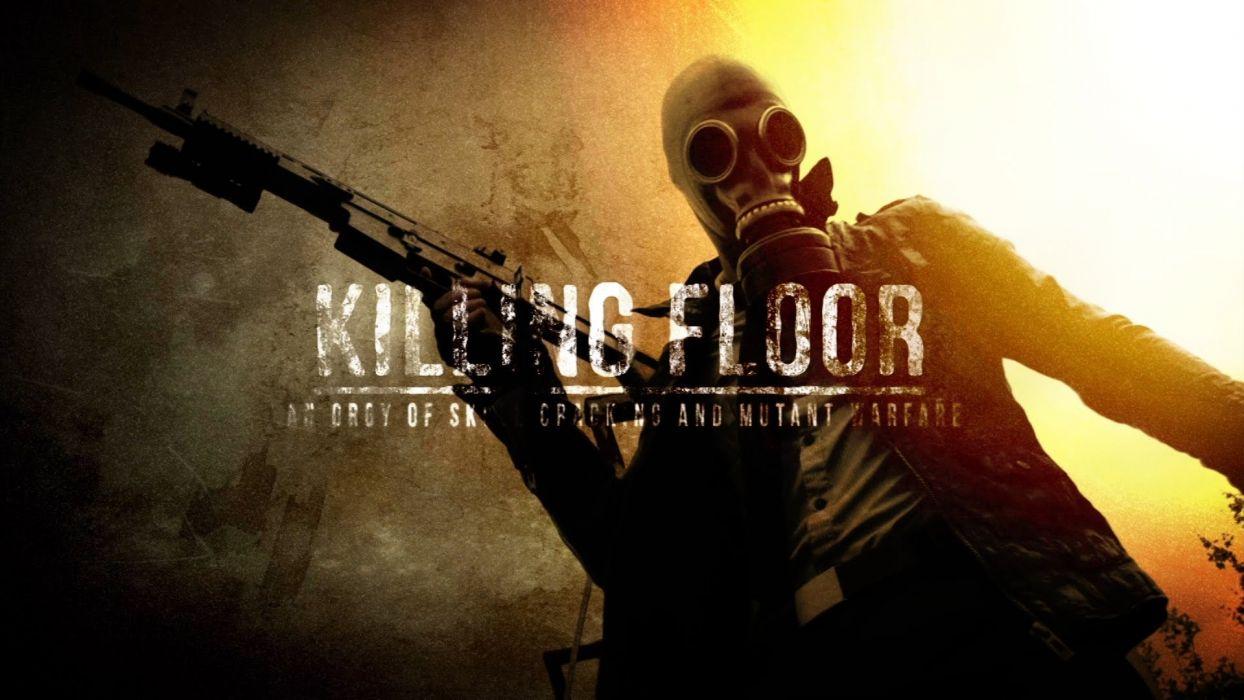 KILLING-FLOOR co-op survival horror shooter killing floor dark (25) wallpaper