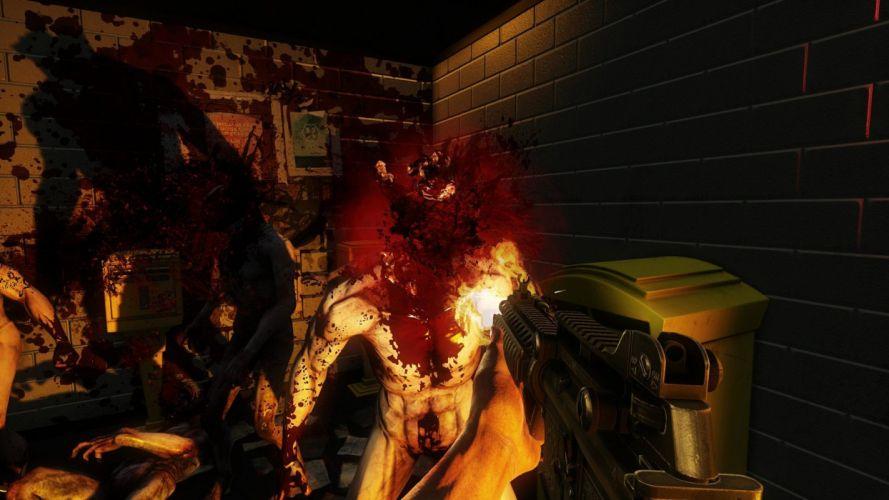 KILLING-FLOOR co-op survival horror shooter killing floor dark (32) wallpaper