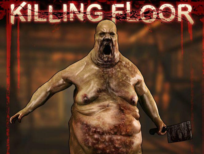KILLING-FLOOR co-op survival horror shooter killing floor dark (29) wallpaper