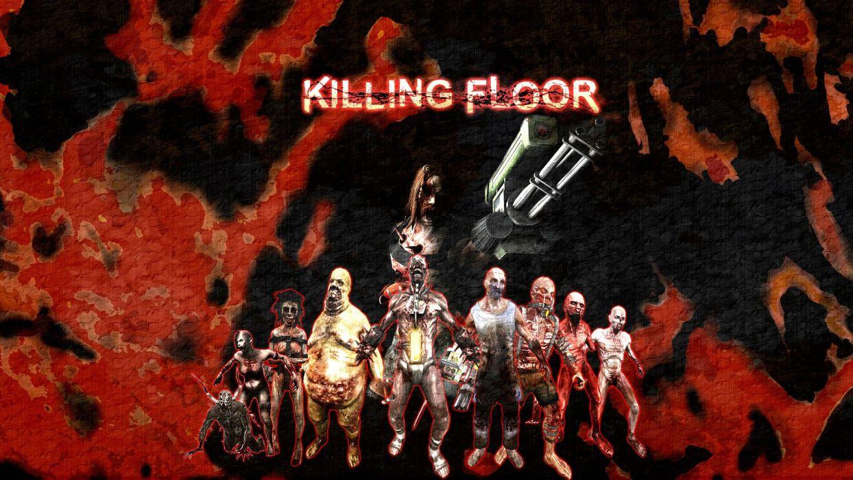 KILLING-FLOOR co-op survival horror shooter killing floor dark (51) wallpaper