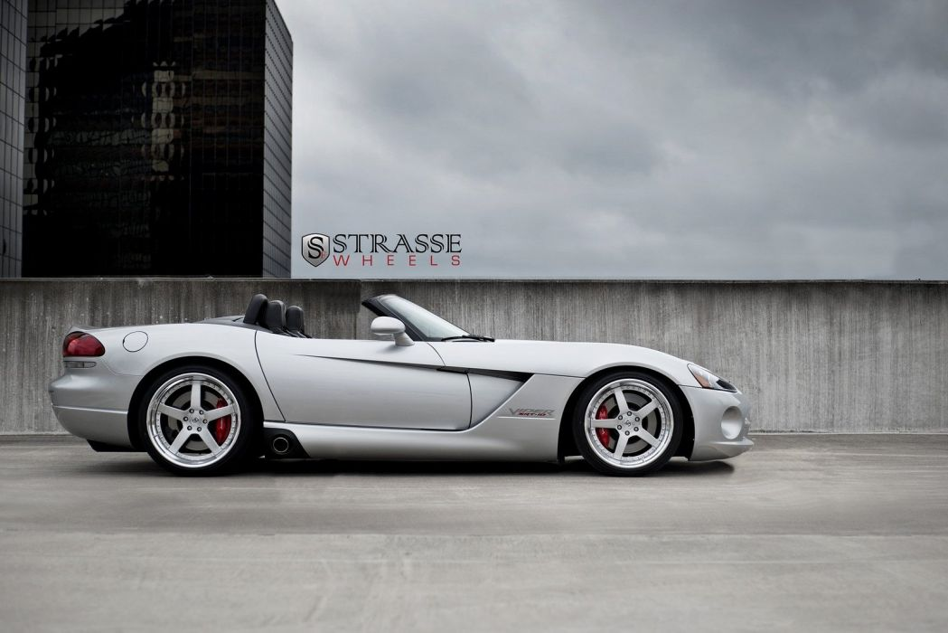 cars srt10 strasse supercharged Tuning Viper wheels wallpaper