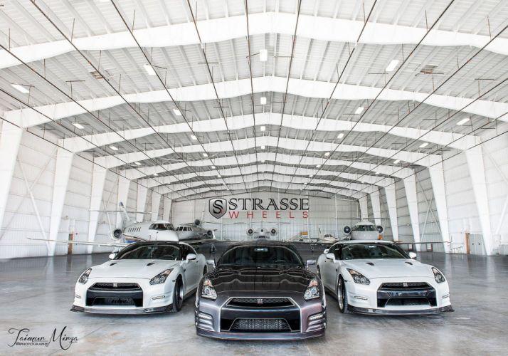 GTR Nissan strasse Tuning wheels cars wallpaper