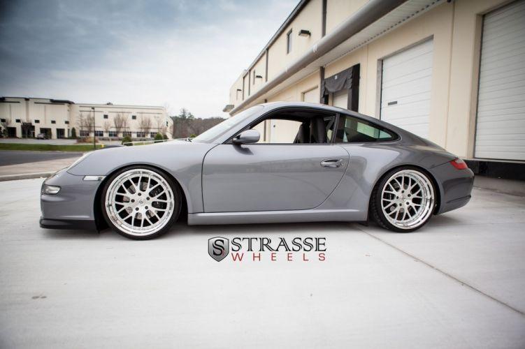 Porsche 911 Carrera Strasse Wheels tuning cars wallpaper