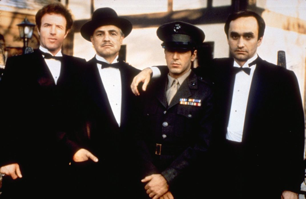 The Godfather Corloene Family Mafia Classic wallpaper