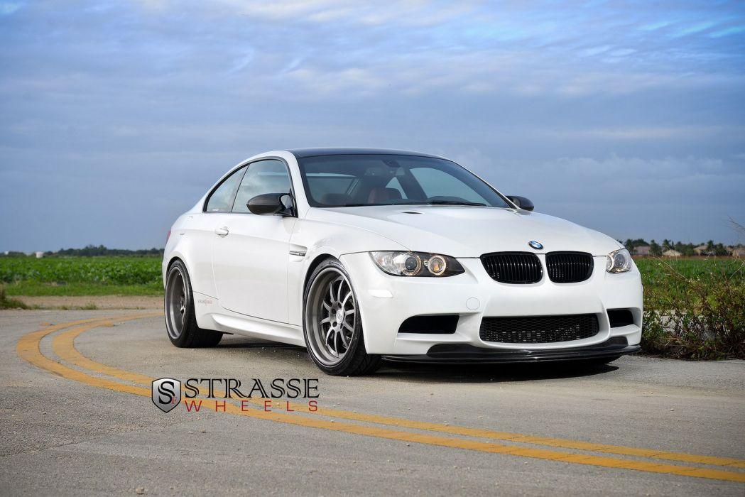BMW e92 strasse Tuning wheels cars m3 wallpaper