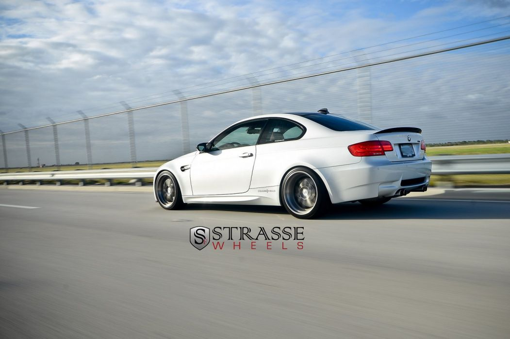 BMW e92 strasse Tuning wheels cars m3 wallpaper