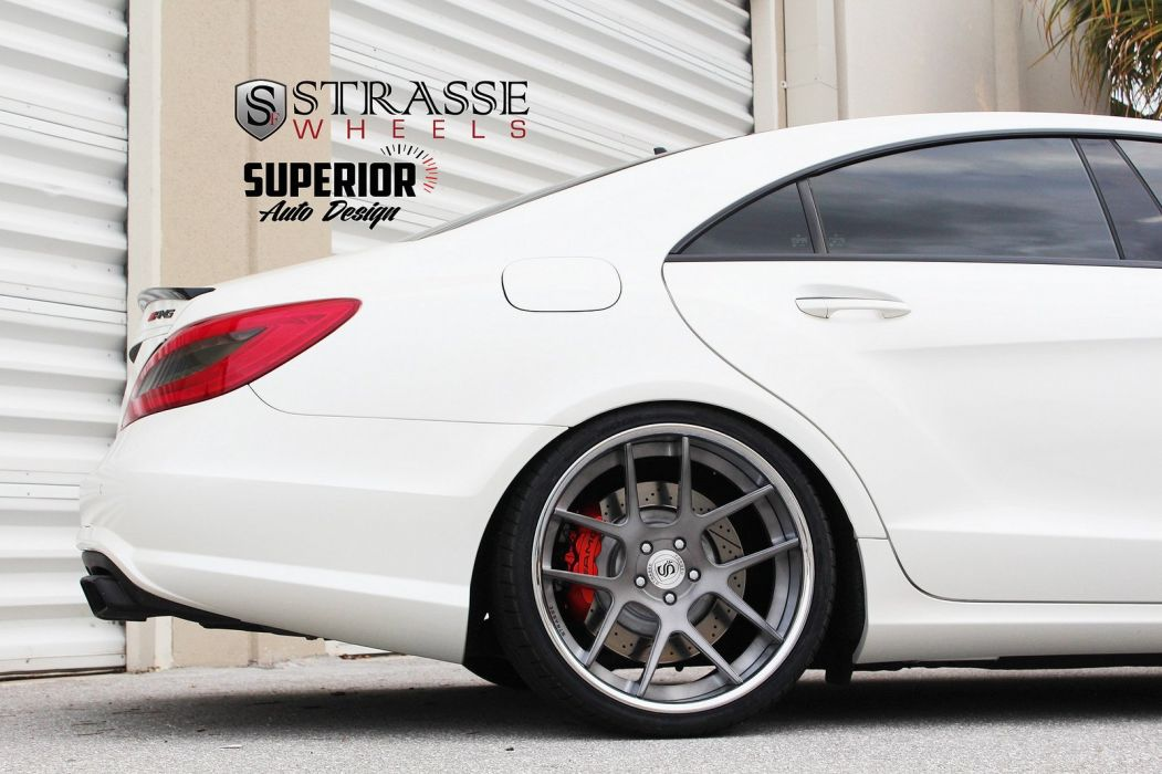 amg cars cls63 Mercedes strasse Tuning wheels white wallpaper