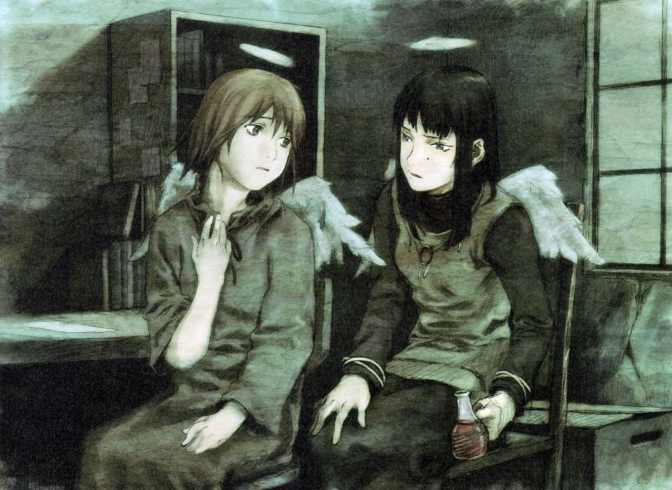 HAIBANE RENMEI animation drama fantasy wallpaper