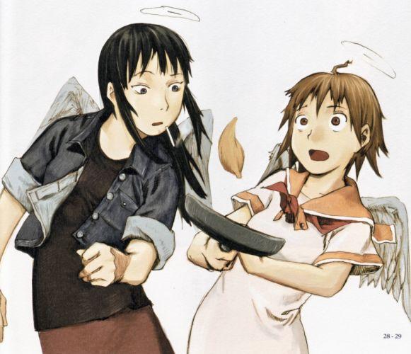 HAIBANE RENMEI animation drama fantasy wallpaper