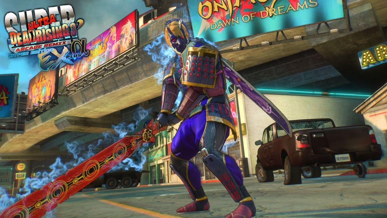 SUPER ULTRA DEAD RISING action Arcade Remix Hyper horror wallpaper