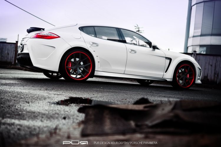 PANAMERA Porsche purwheels Tuning wheels wallpaper