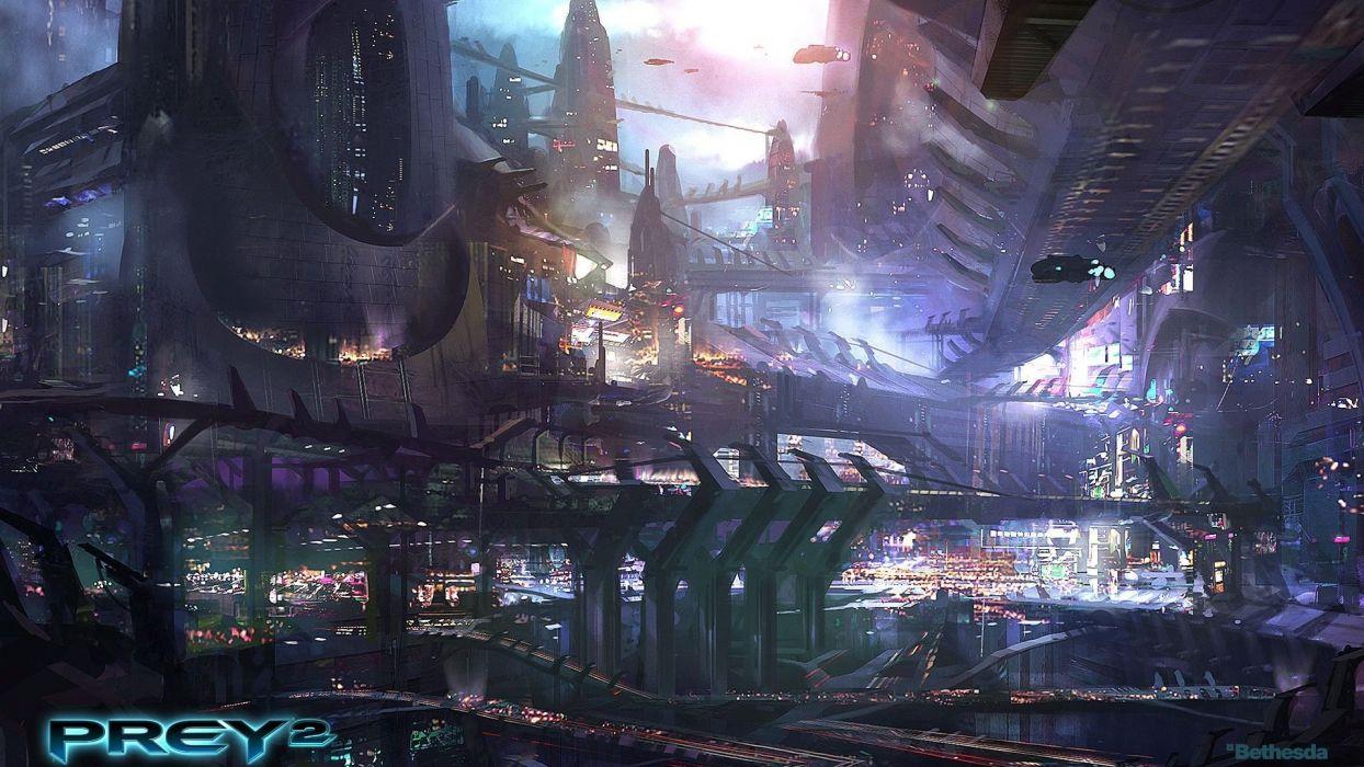 PREY shooter sci-fi mmo online wallpaper