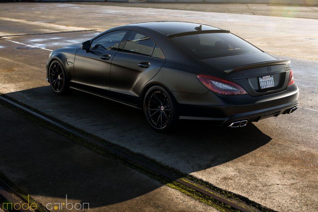 amg black cls63 Mercedes Tuning wallpaper