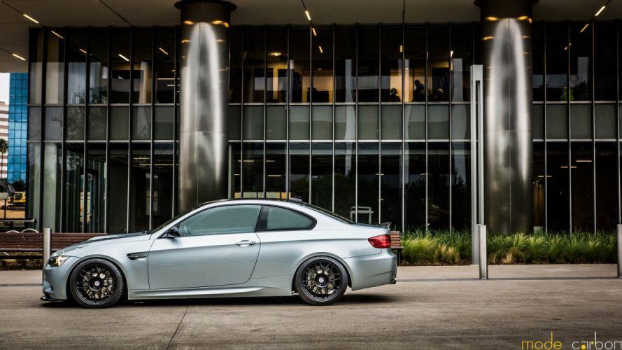 BMW cars e92 grey Tuning m3 wallpaper