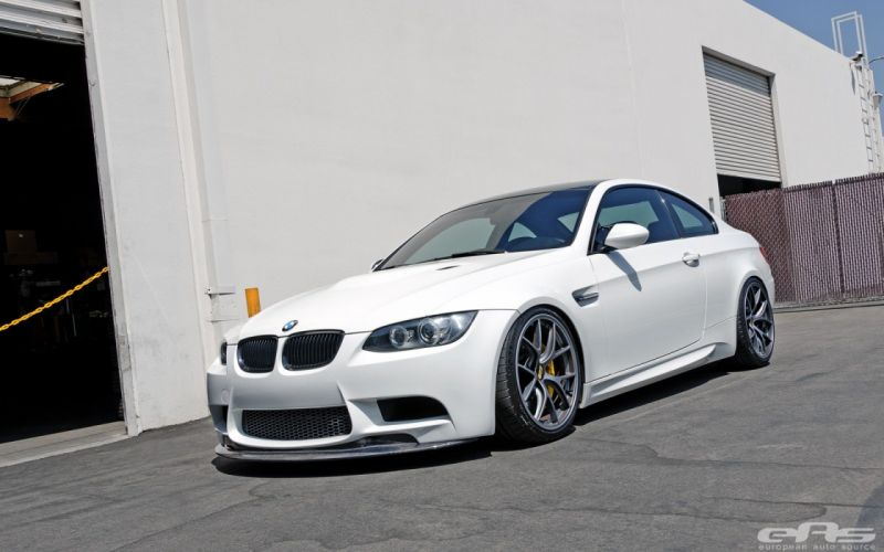 BMW cars e92 white Tuning wallpaper