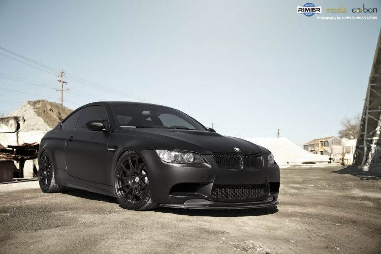 BMW cars e92 Tuning black wallpaper