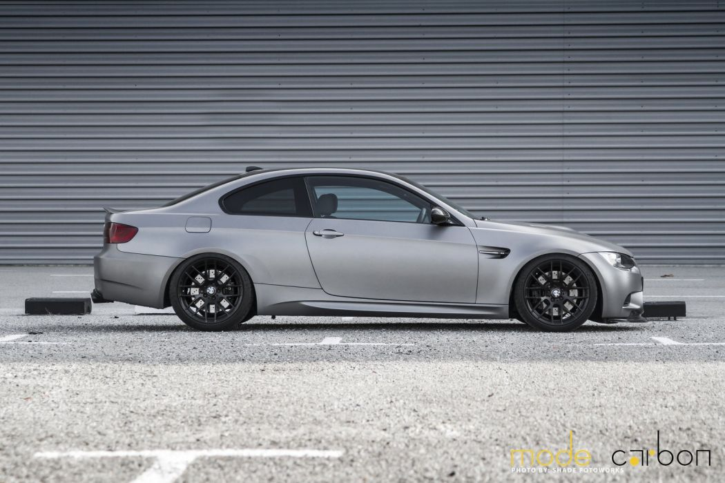 BMW cars e92 Tuning grey wallpaper