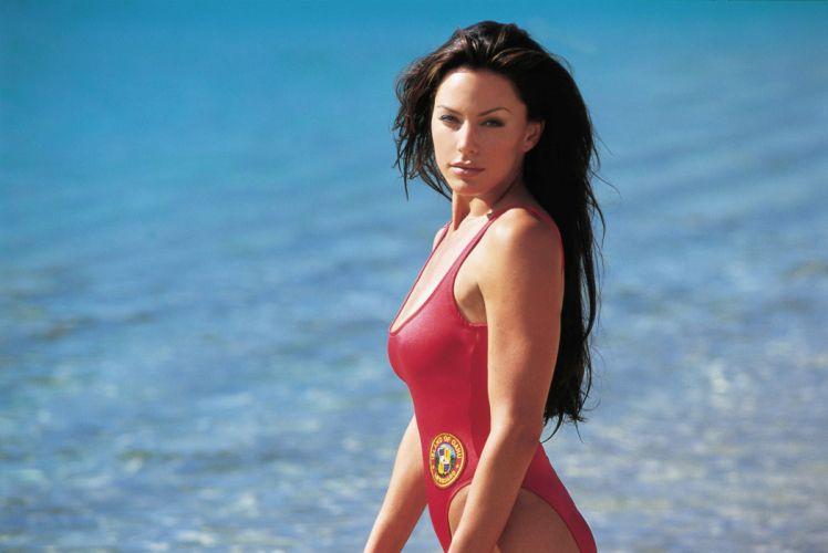 BAYWATCH action adventure drama sexy babe series beach wallpaper
