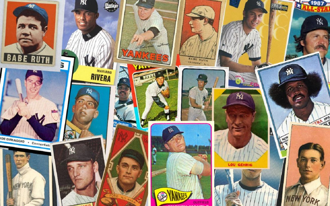 Classic Baseball Cards Wallpaper 1440x900 391765 Wallpaperup