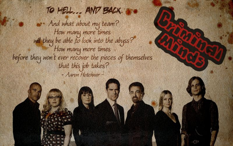 CRIMINAL MINDS crime drama mystery procedural wallpaper