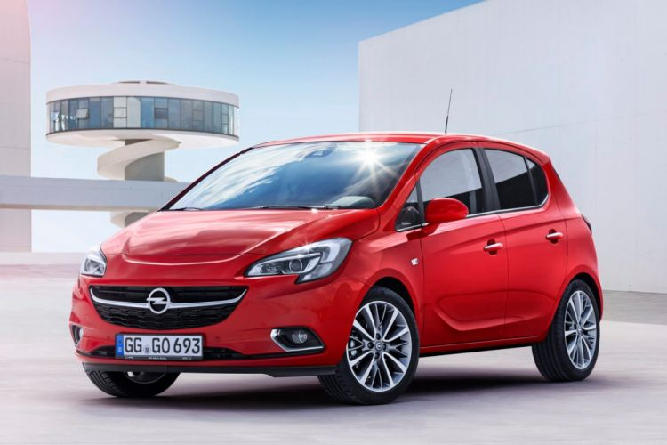 2014 opel corsa red germany cars wallpaper