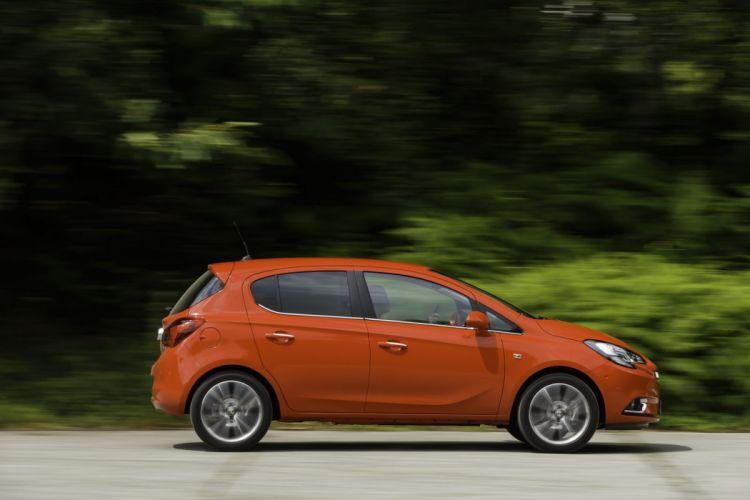 2014 Vauxhall corsa red UK cars orange wallpaper