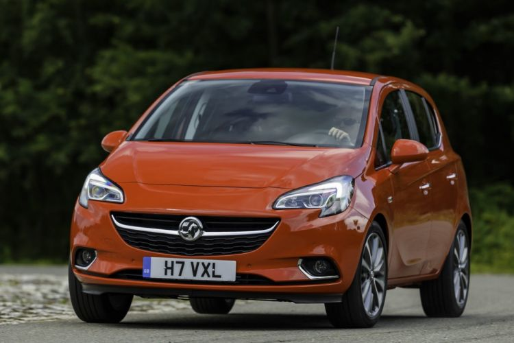 2014 Vauxhall corsa red UK cars orange wallpaper
