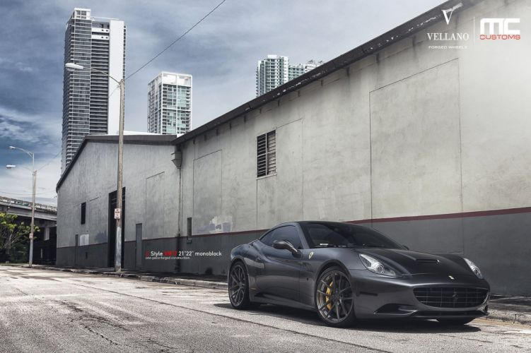 Ferrari California Vellano wheels tuning cars wallpaper