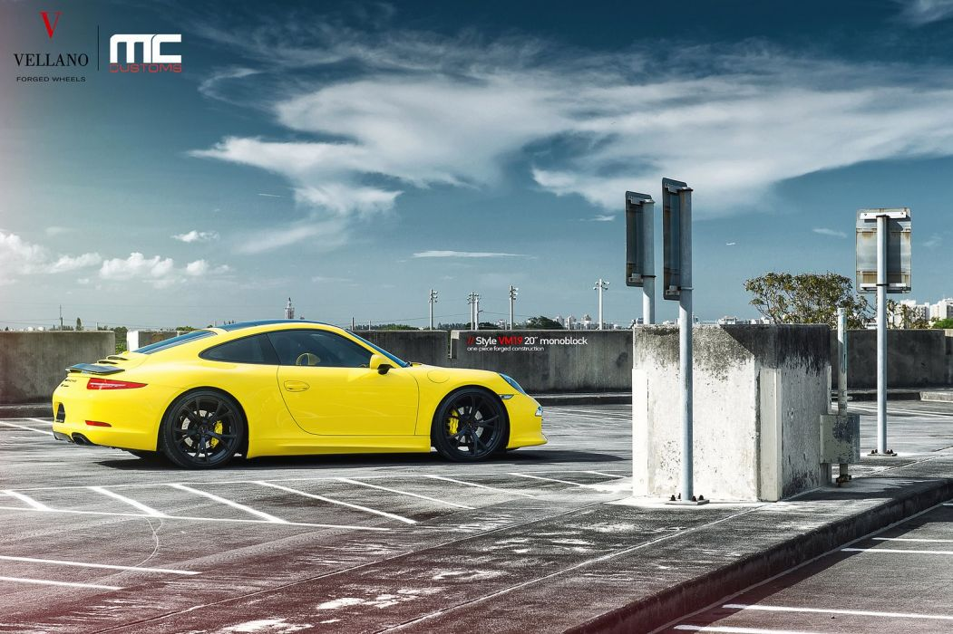 PORSCHE 911 carrera Vellano wheels tuning cars wallpaper