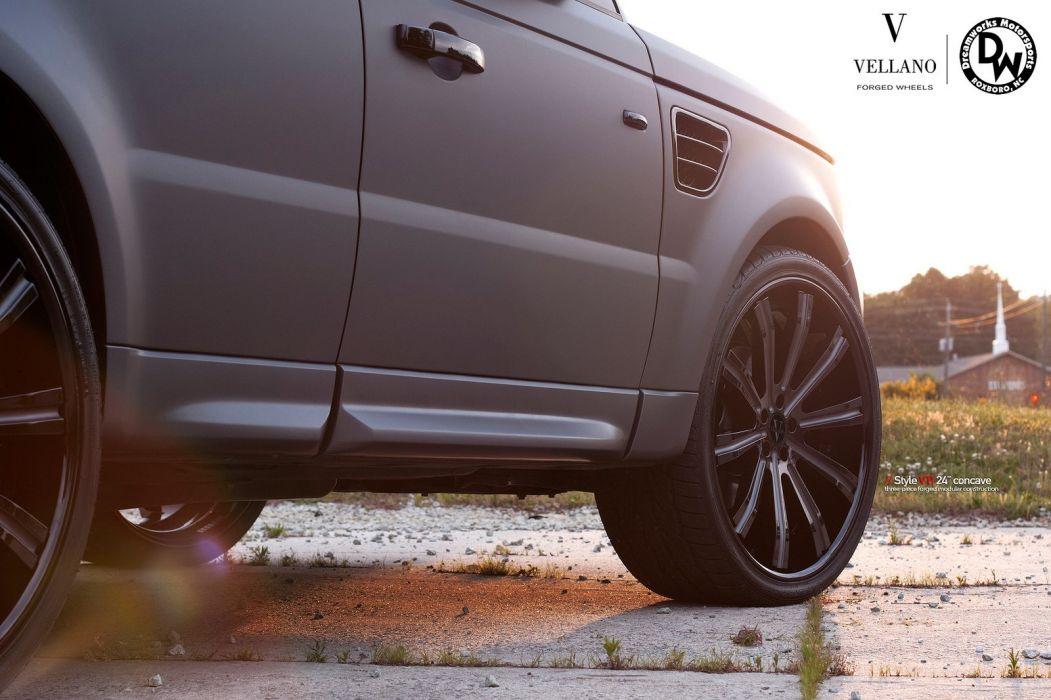 RANGE ROVER SPORT Vellano wheels tuning cars wallpaper
